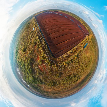 Cenas Marsh - AERIAL 360 PANORAMA PLANET - THUMB