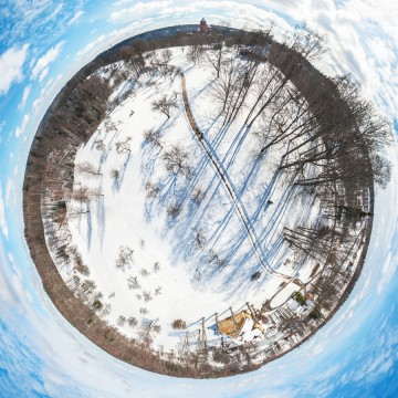 Turaida Estate Park - AERIAL 360 PANORAMA PLANET - THUMB