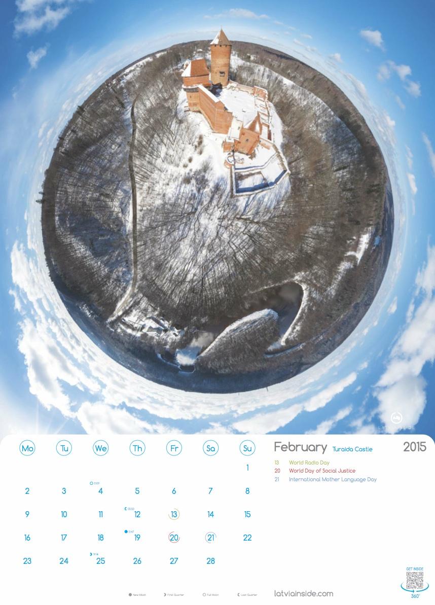 PLANET LATVIA 2015 Kalendars - 2