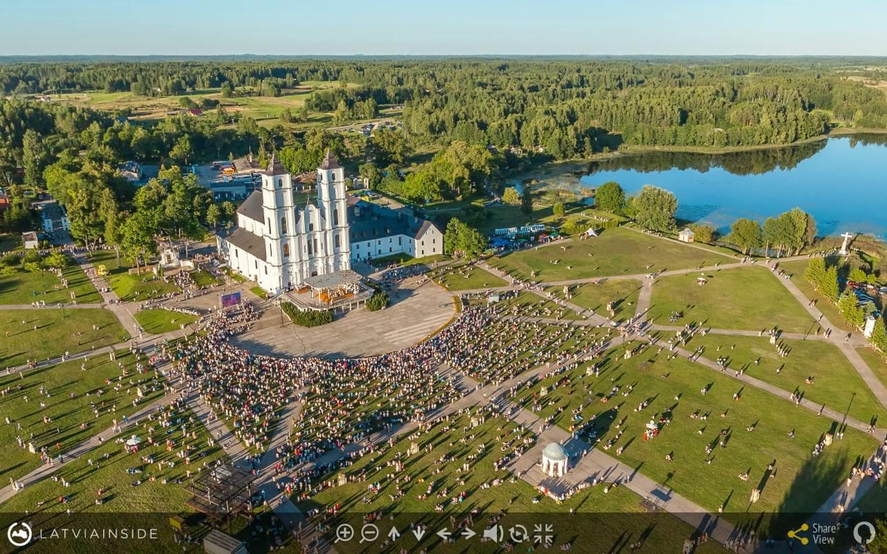 Aglona 2015 Aero Foto 360 virtuala ture 1 | LATVIA INSIDE