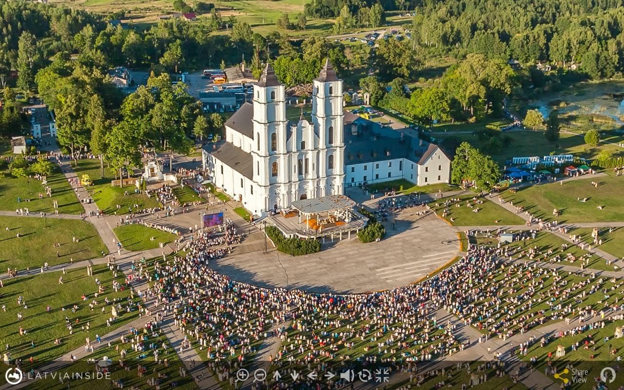 Aglona 2015 Aero Foto 360 virtuala ture 2 | LATVIA INSIDE