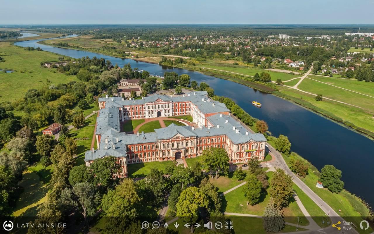 Jelgava Latvijas 360 gradu Aero Foto Virtuala Ture 4