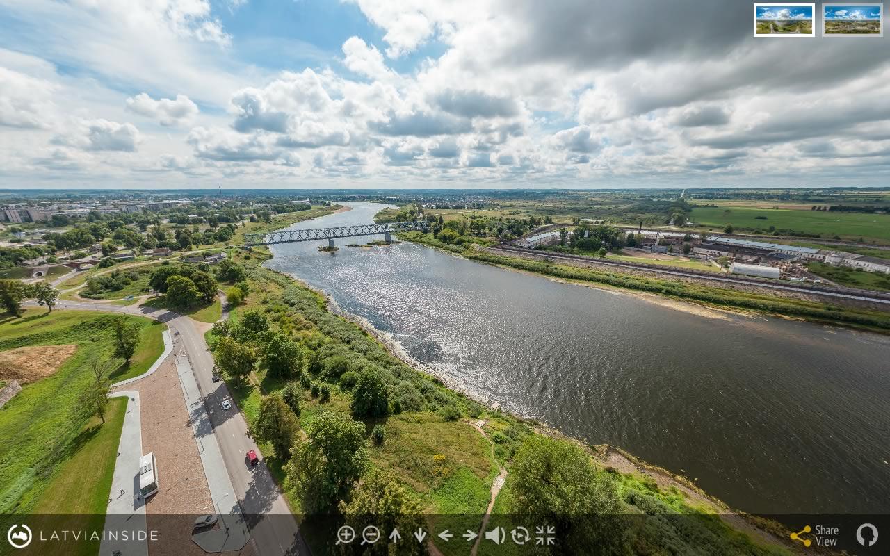 Daugavpils Cietoksnis 5 - Aero Foto 360 gradu Virtuala Ture | LATVIA INSIDE