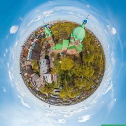Rigas 360 grādu Aero Foto | Latvia Inside | Visu Sveto Baznica