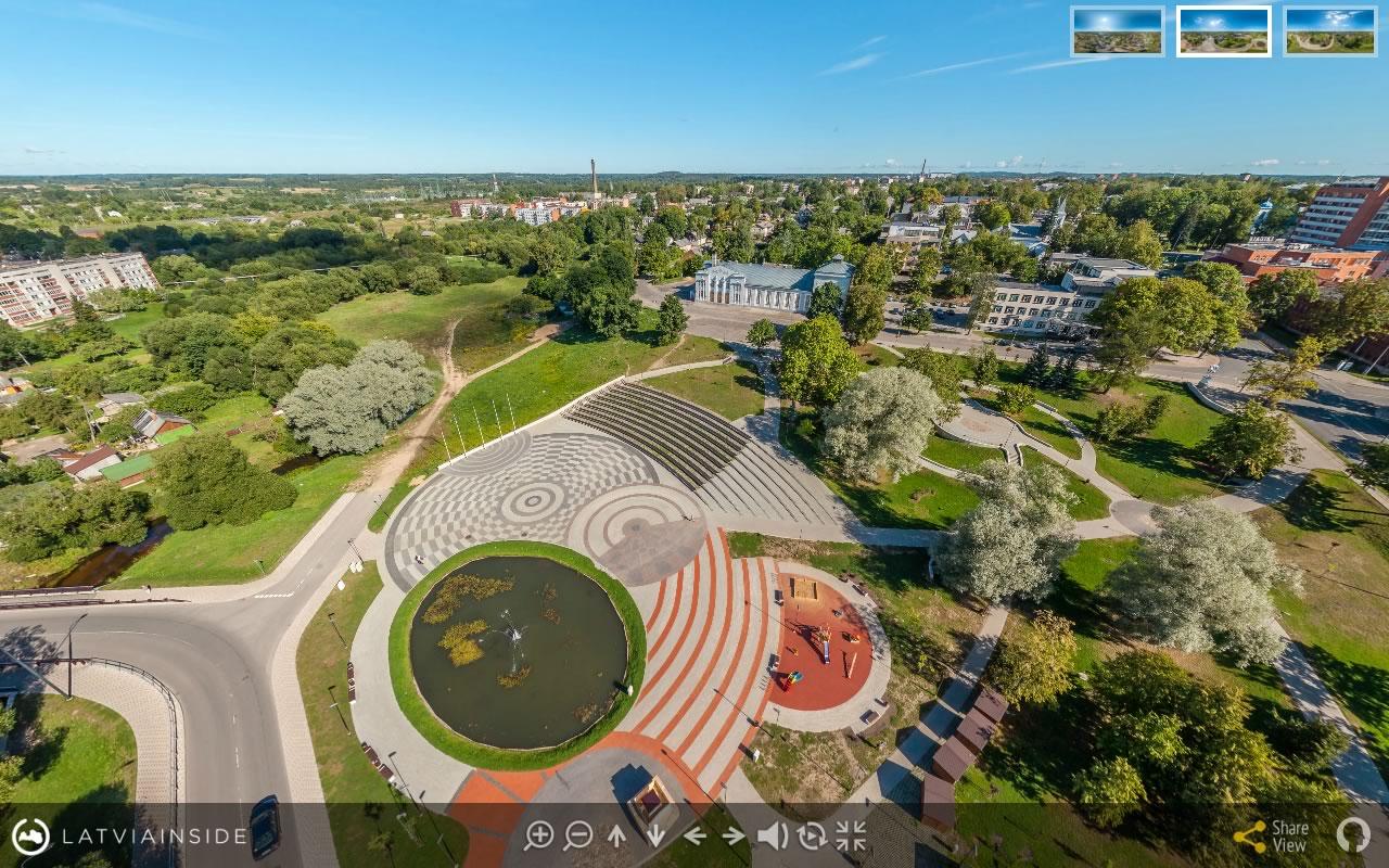 Rezekne 2 Aero Foto 360 gradu Virtuala Ture | LATVIA INSIDE