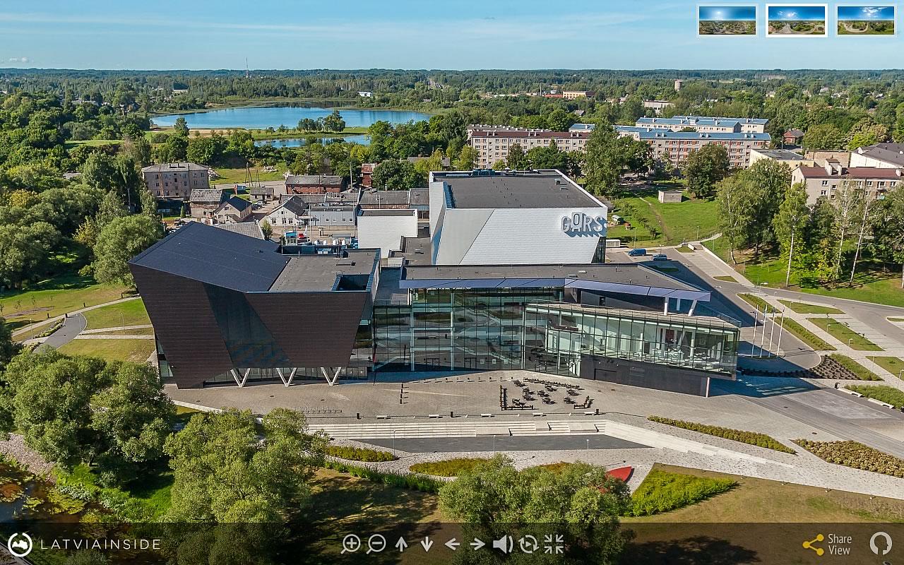Rezekne 3 Aero Foto 360 gradu Virtuala Ture | LATVIA INSIDE