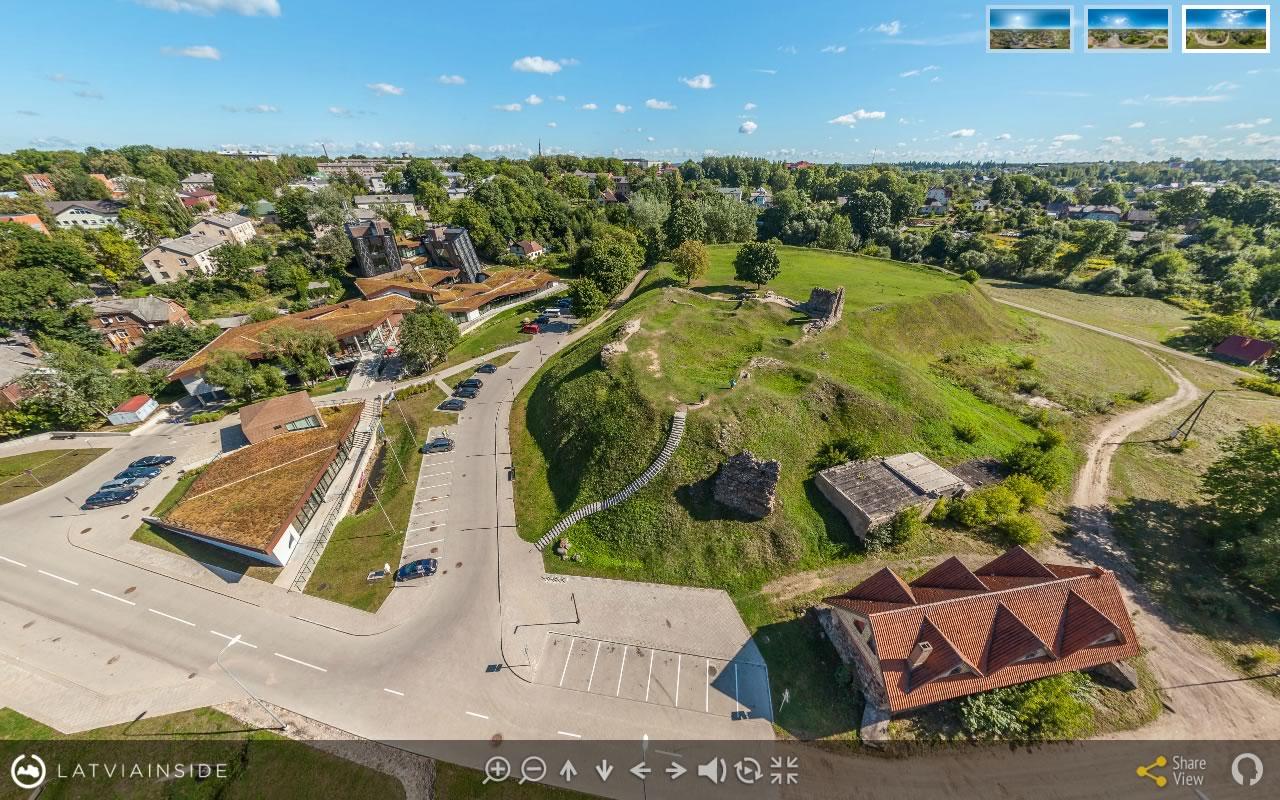 Rezekne 4 Aero Foto 360 gradu Virtuala Ture | LATVIA INSIDE