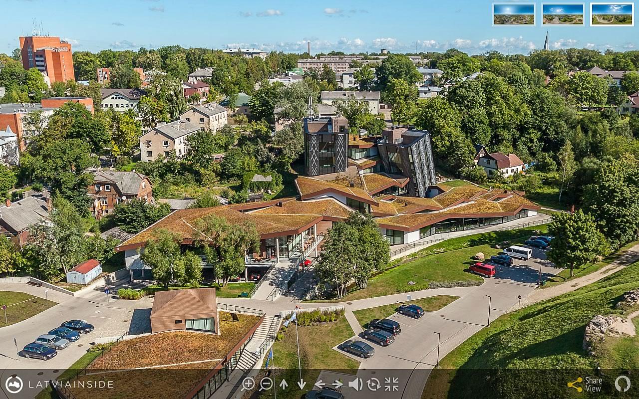 Rezekne 5 Aero Foto 360 gradu Virtuala Ture | LATVIA INSIDE