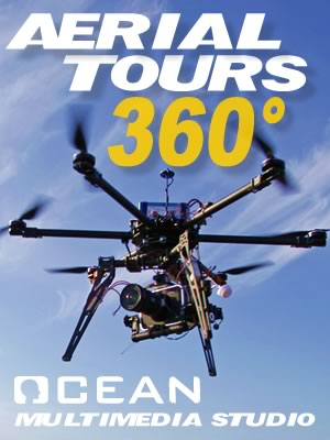Pro HD Aerial 360 Tours Productions OCEAN Multimedia Studio