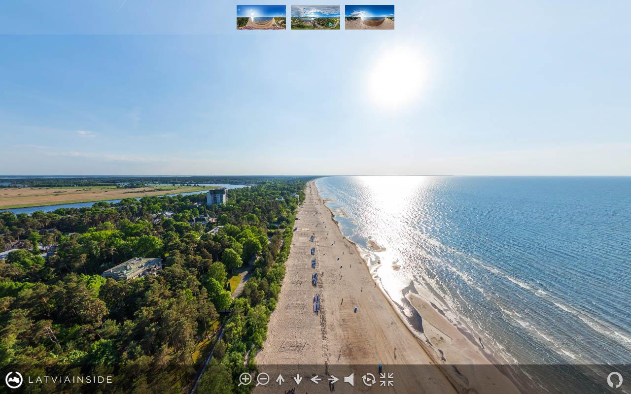 Jurmala Majori Latvijas 360 gradu Aero Foto Virtuala Ture 2
