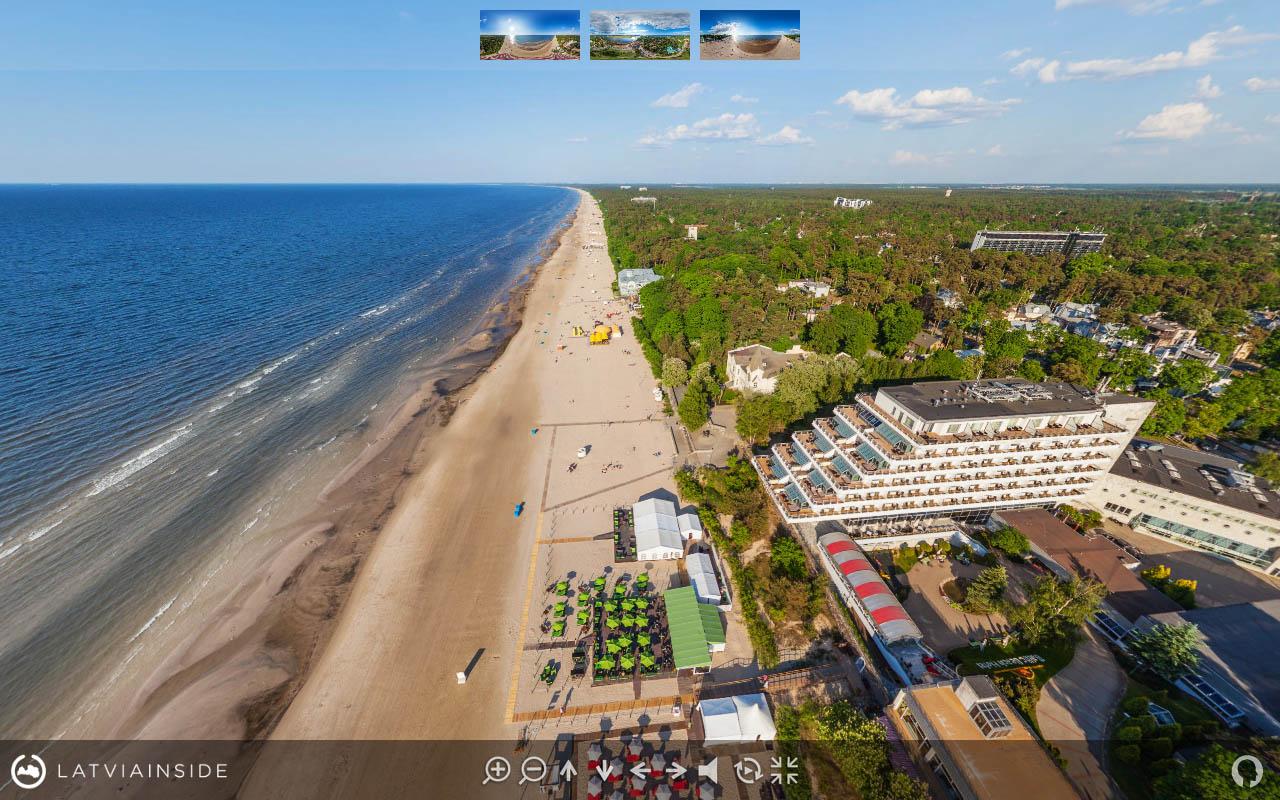 Jurmala Majori Latvijas 360 gradu Aero Foto Virtuala Ture 5