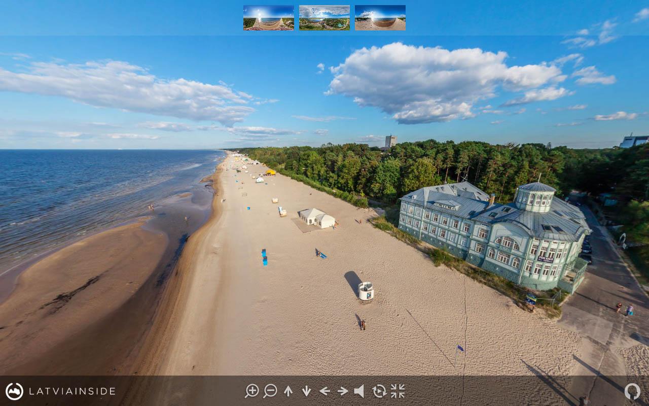 Jurmala Majori Latvijas 360 gradu Aero Foto Virtuala Ture 6