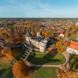 3D VR Virtuālā Realitāte Latvija cesu pils