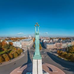 3D VR Virtuālā Realitāte Latvija Brīvības Piemineklis