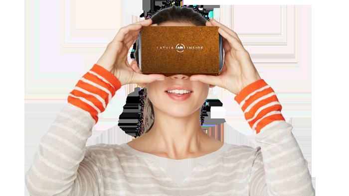 virtuālās realitātes brilles Latvija