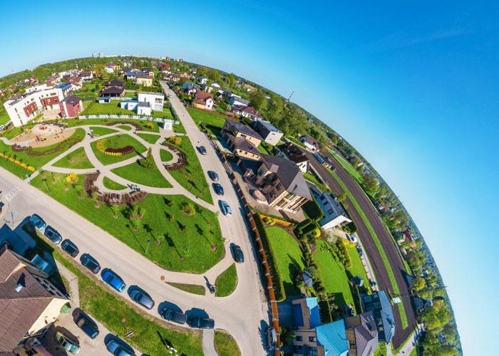 Mārupe VR Aerial 360° Tour