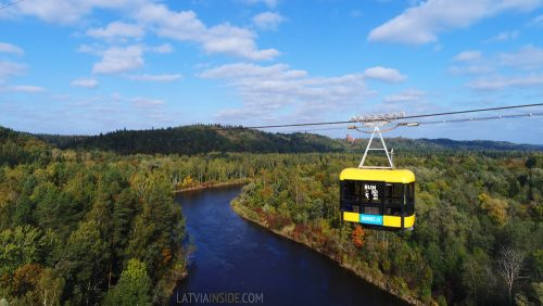 Aerial Cable-way in Sigulda