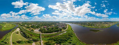 Jekabpils – 360° VR city tour