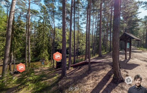 360° aerial tour for ROJA nature trails
