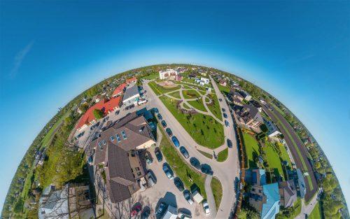 Marupe aerial 360° VR tour